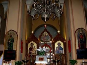 Šv. Paraskevos cerkvės altorius