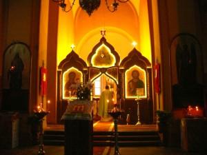 Šv. Paraskevos cerkvės altorius (2)