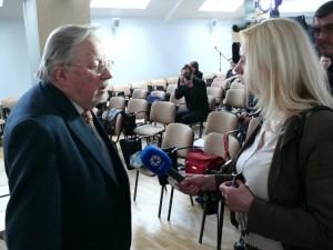 Į klausimus atsako Vytautas Landsbergis