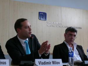 Vladimiras Milovas ir Borisas Nemcovas