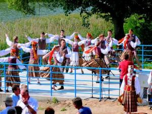 Punsko lietuviai linksminasi