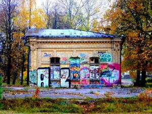 Buvusi geležinkelio stotis