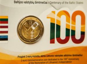 Estijai, Latvijai ir Lietuvai - 100 metų