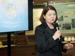 Estijos ambasadorė Jana Vanaveski