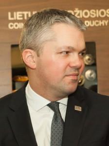 Latvijos ambasados pirmasis sekretorius Ivaras Liepniekas