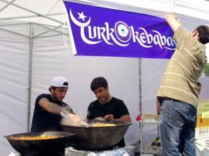 Turkai Rotušės aikštėje (3)