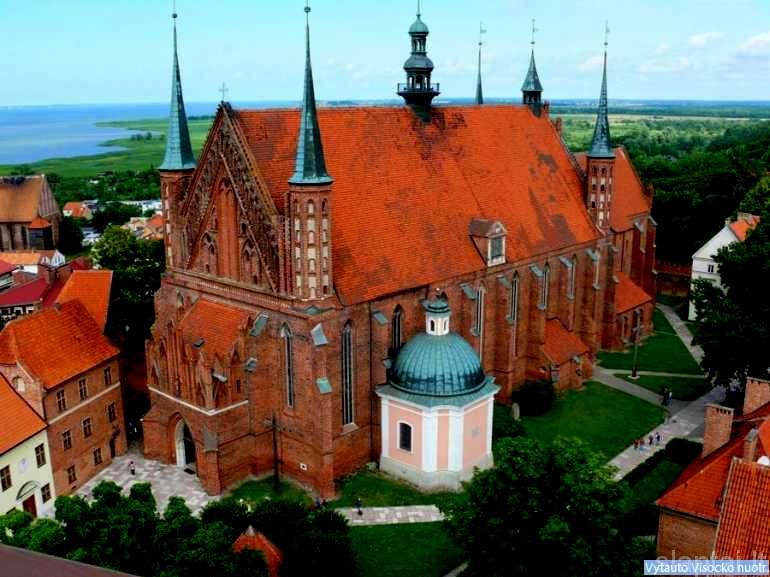 Fromborkas, kur gyveno ir dirbo M. Kopernikas