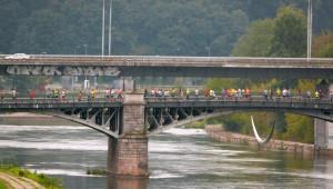 Žvėryno tiltas. Vytauto Visocko nuotr.