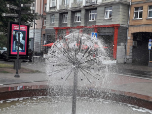 Fontanas Vokiečių gatvėje Vilniuje. Slaptai.lt nuotr.
