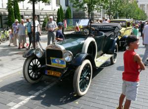 Senoviškas automobilis. Vytauto Visocko (Slaptai.lt) nuotr.