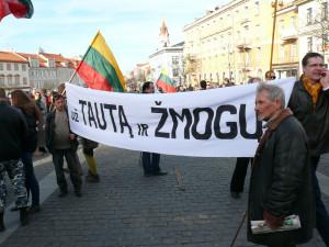 Už tautą ir žmogų. Nuotraukos autorius - Vytautas Visockas