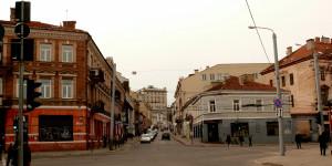 Vilnius. Jono Basanavičiaus gatvė. Vytauto Visocko (Slaptai.lt) nuotr.