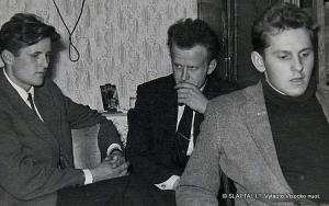 N.Vėlius, I.Ledas, V.Mikailionis