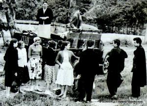Su Konservatorijos studentais  tautosakos ekspedicijoje
