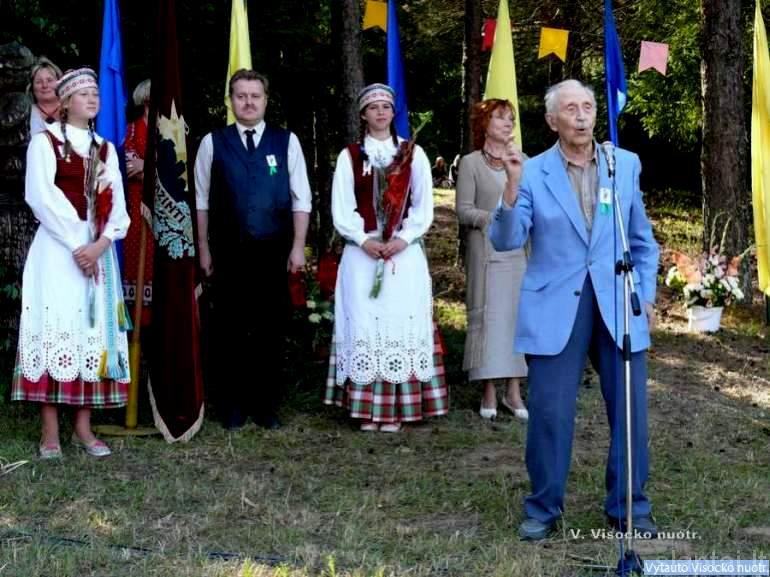 Lietuva gražiausia pasaulyje, sakė iš Suginčių kilęs V. Bražėnas