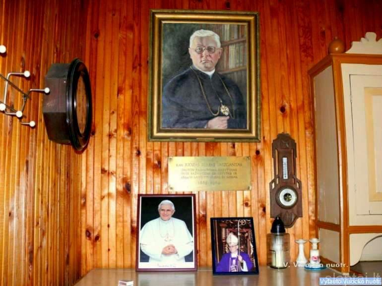 Svėdasų bažnyčios viduje