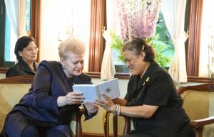 Prezidentės Dalios Grybauskaitės vizitas Tailande (10)