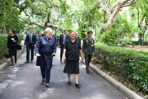 Prezidentės Dalios Grybauskaitės vizitas Tailande (11)