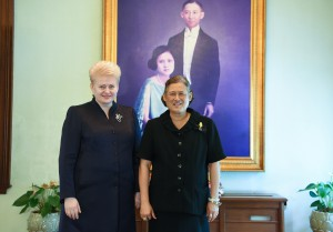 Prezidentės Dalios Grybauskaitės vizitas Tailande (12)