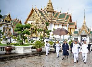Prezidentės Dalios Grybauskaitės vizitas Tailande (16)