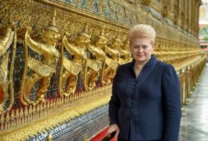 Prezidentės Dalios Grybauskaitės vizitas Tailande (7)