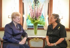 Prezidentės Dalios Grybauskaitės vizitas Tailande (8)