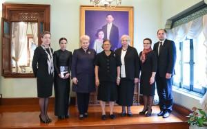 Prezidentės Dalios Grybauskaitės vizitas Tailande (9)