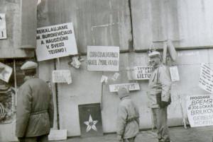 1991-ųjų Vilnius. Sausio mėnuo