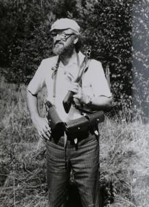 Su medžiokliniu šautuvu