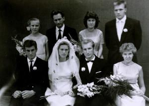 Vestuvėse - Dalia ir Vytautas Visockas