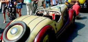 Senoviškų automobilių paradas. Vytauto Visocko nuotr.