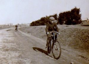 Senoviškas dviratis. Vytauto Visocko nuotr.