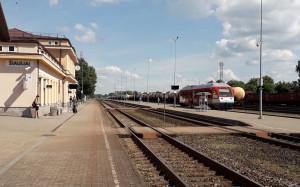 Šiaulių geležinkelio stotis. Slaptai.lt nuotr.
