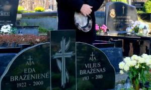 Visuomenės veikėjo, publicisto Viliaus Bražėno kapas