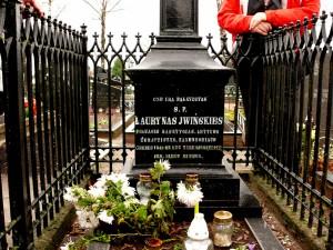 Lauryno Ivinskio kapas Kuršėnų kapinėse