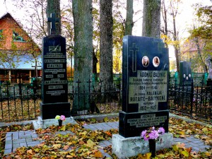 Dzūkijos šviesuoliai Rumbonių kapinėse