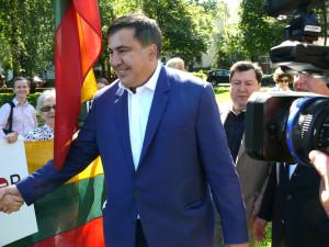 Michailas Saakašvilis. Vytauto Visocko foto