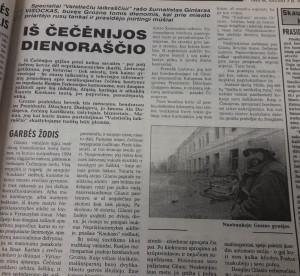 Čečėnijos dienoraštis