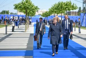 NATO viršūnių susitikimas Briuselyje (5)