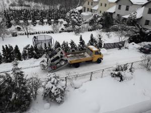 Sniego valytuvas. Slaptai.lt foto