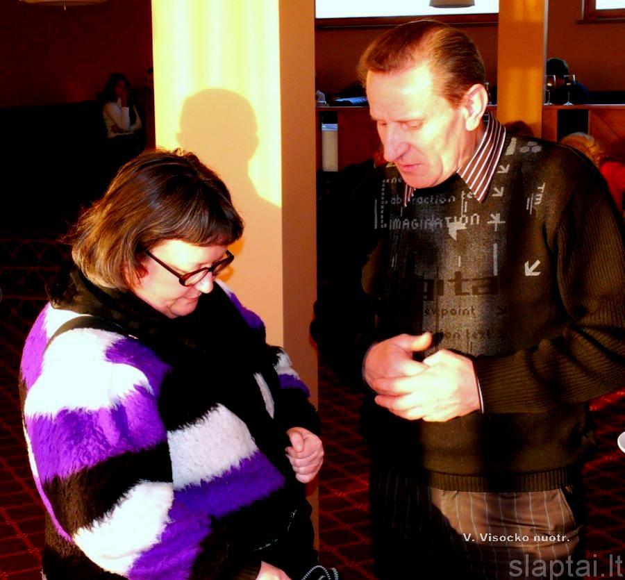 Pokalbis su žurnaliste iš Austrijos
