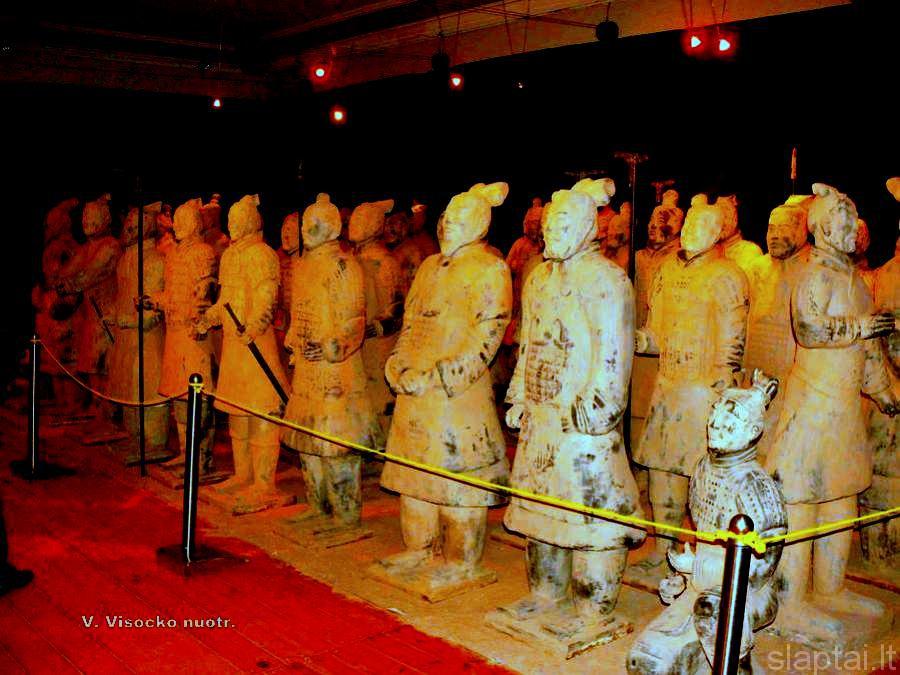 Terakotiniai kinų imperatoriaus kariai