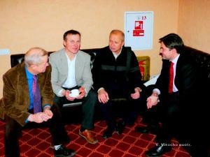 Su svečiais iš Punsko