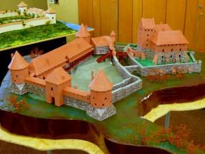 Trakų pilies maketas
