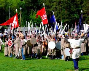Vingio parke - jaunieji Žalgirio kariai (2)