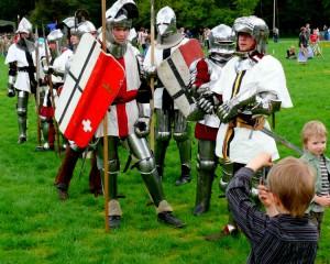 Vingio parke - jaunieji Žalgirio kariai (3)