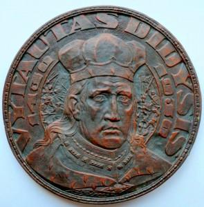 Vytautas Didysis. Skulptoriaus P.Rimšos medalis