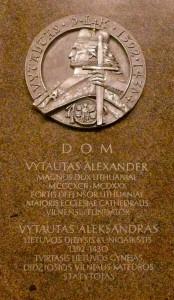 Vytautas Didysis - Vilniaus katedros statytojas
