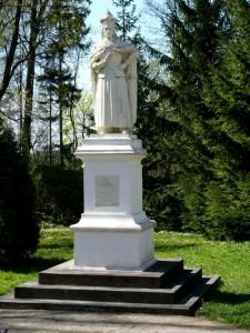 Vytautas Didysis Burbiškių dvaro parke