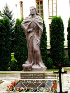 Vytautas Didysis Kernavėje. Skulptorius A.Kmieliauskas